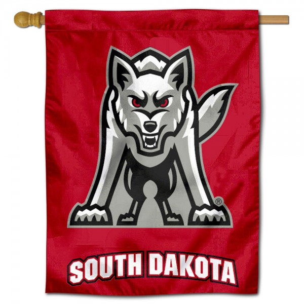 USD Coyotes House Flag