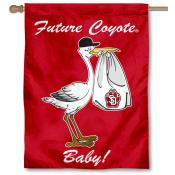 USD Coyotes New Baby Banner