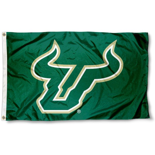 USF Bull Horns Flag
