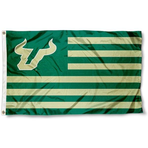 USF Bull Nation Flag