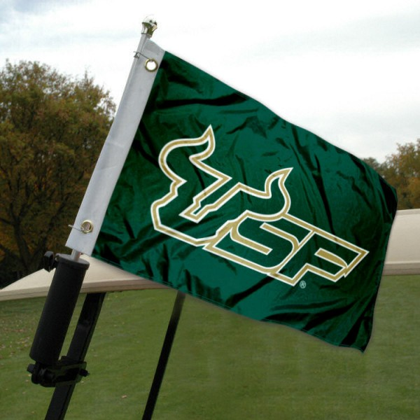 USF Bulls Golf Cart Flag