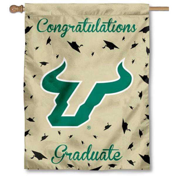 NCAA South Florida Bulls Fan Banner