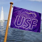 USF Cougars Boat Nautical Flag