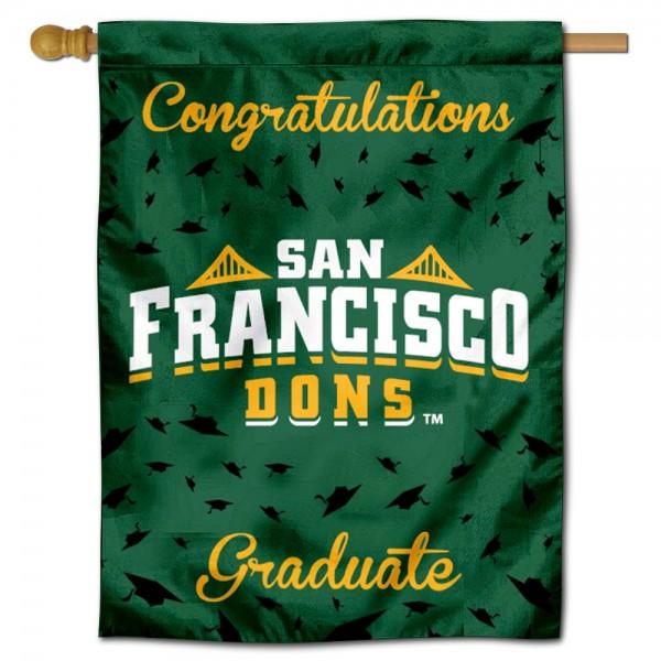 USF Dons Graduation Banner
