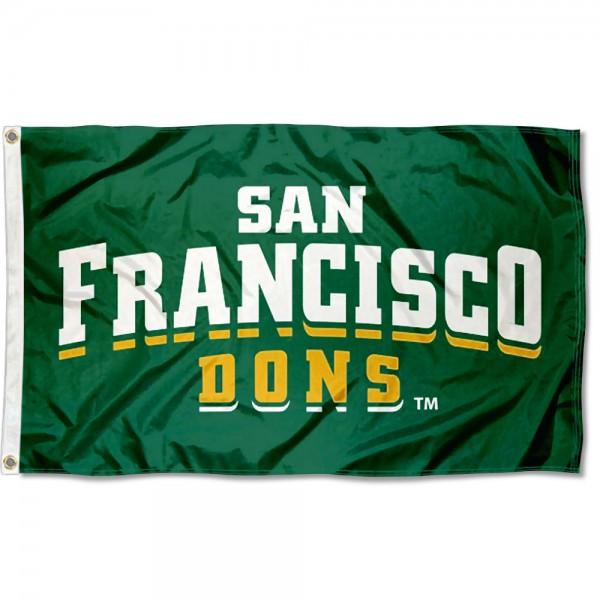 USF Dons Wordmark Flag