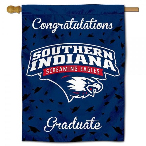 USI Screaming Eagles Graduation Banner