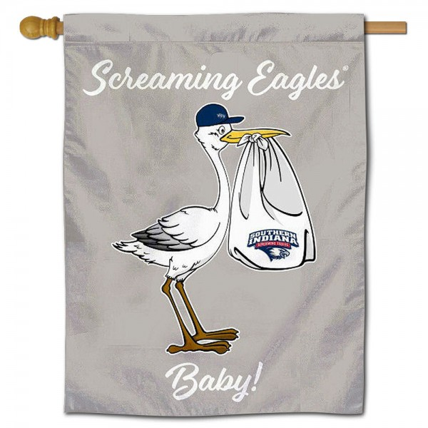 USI Screaming Eagles New Baby Banner