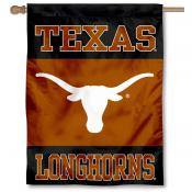UT Longhorns Black House Flag