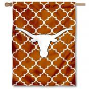 UT Longhorns Patterned House Flag