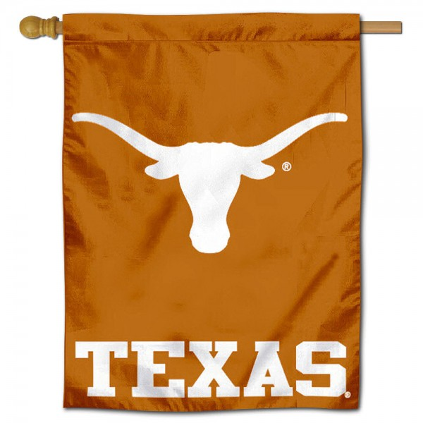 UT Longhorns Polyester House Flag