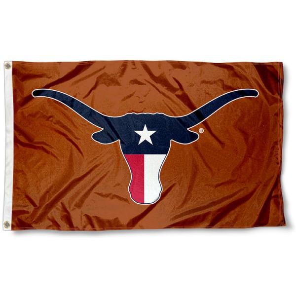UT Longhorns TX Horns Flag