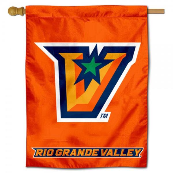 UT Rio Grande Valley Vaqueros House Flag