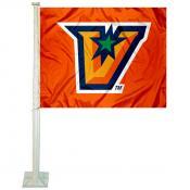 UT Rio Grande Valley Vaqueros Logo Car Flag
