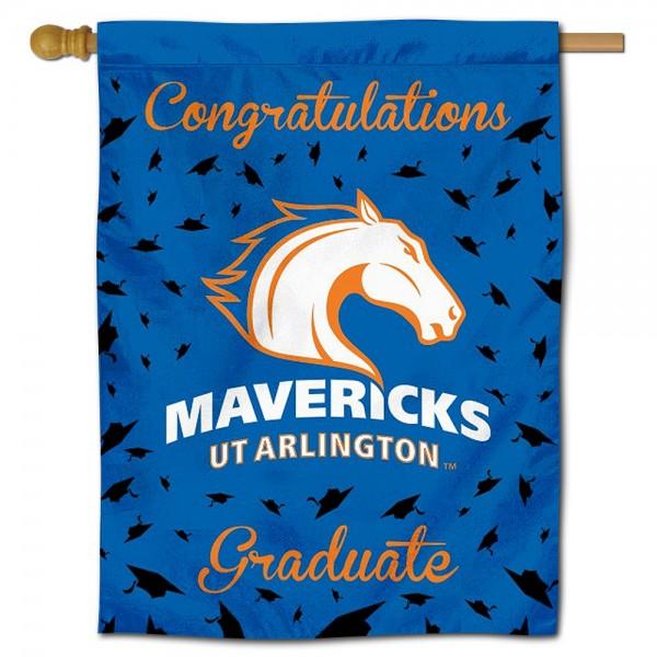 UTA Mavericks Graduation Banner