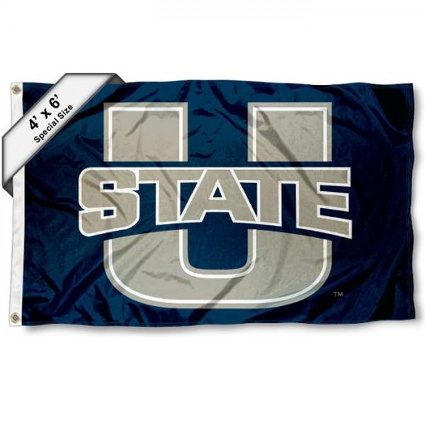 Utah State Aggies 4'x6' Flag