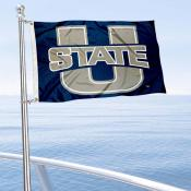 Utah State Aggies Boat Nautical Flag