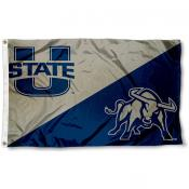 Utah State Aggies Dual Logo Flag