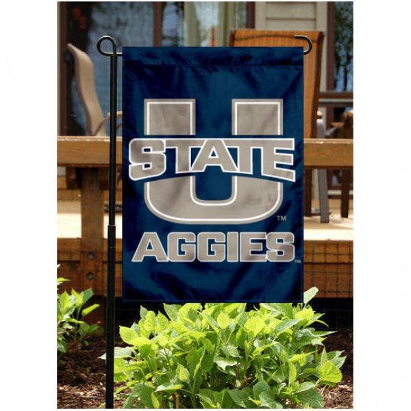 Utah State Aggies Garden Flag