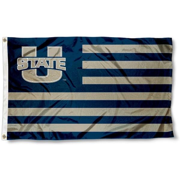 Utah State Aggies Nation Flag