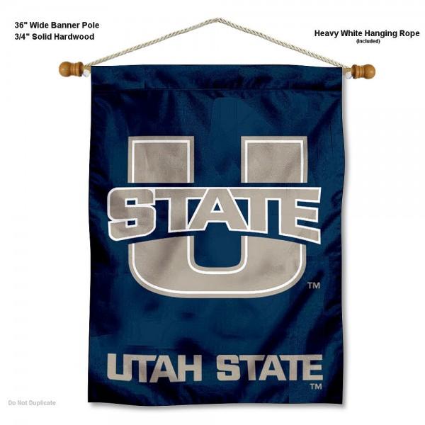 Utah State Aggies Wall Hanging