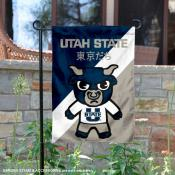 Utah State Aggies Yuru Chara Tokyo Dachi Garden Flag