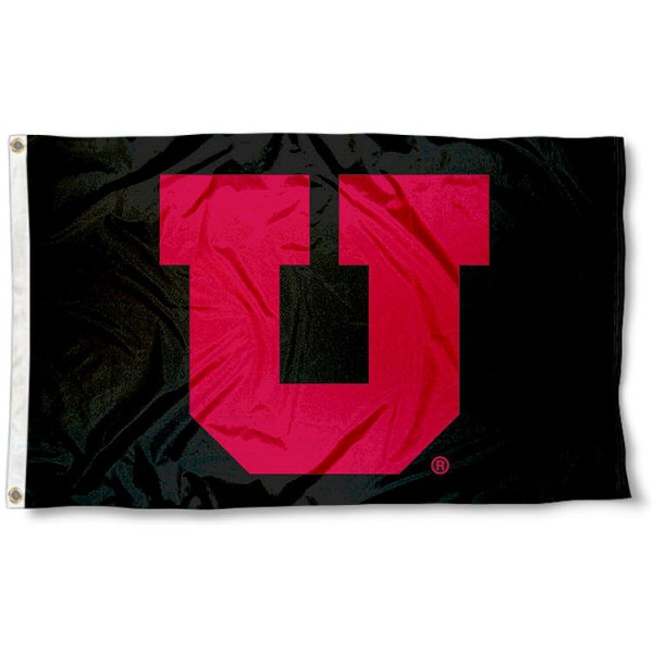 Utah Utes Blackout Flag