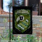 Utah Utes For Those Who Served Garden Banner