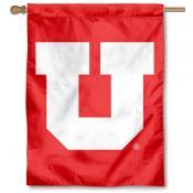 Utah Utes House Flag - Big U