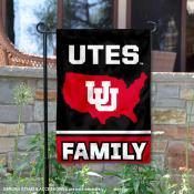 Utah Utes Nation Garden Flag