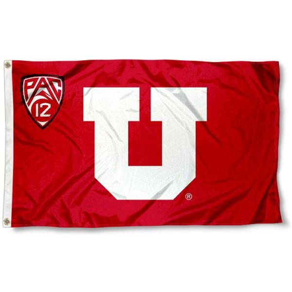 Utah Utes Pac 12 Flag