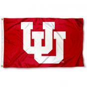 Utah Utes Retro Flag
