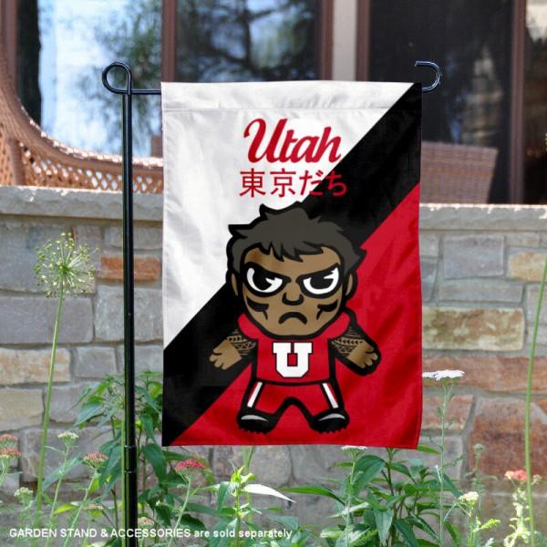 Utah Utes Yuru Chara Tokyo Dachi Garden Flag