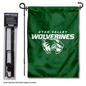 Utah Valley University Garden Flag and Holder