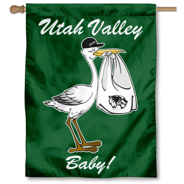 Utah Valley University New Baby Banner