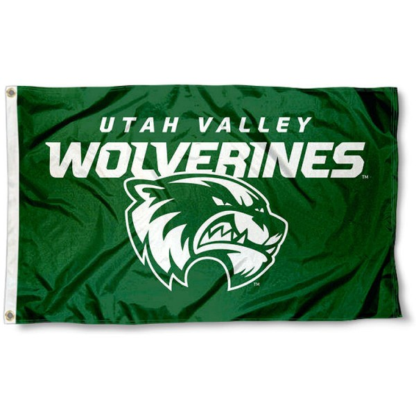 Utah Valley Wolverines 3x5 Flag
