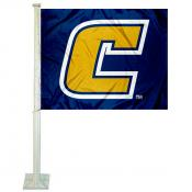 UTC Mocs Car Flag