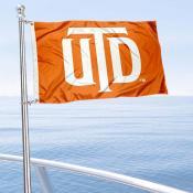 UTD Comets Boat Nautical Flag