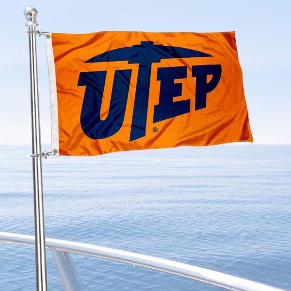 UTEP Boat Nautical Flag