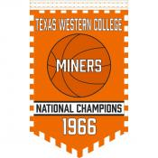 UTEP College Basketball National Champions Banner
