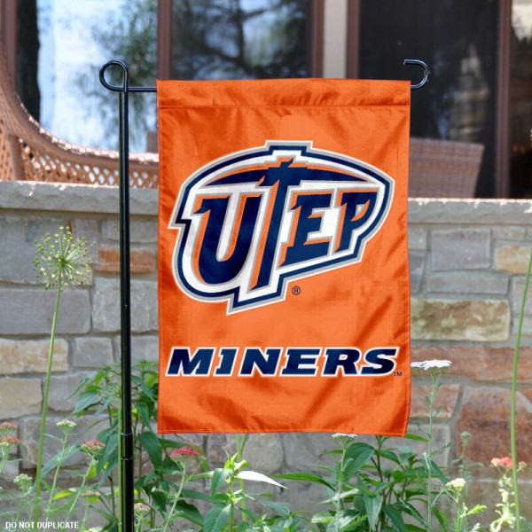 UTEP Garden Flag