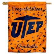 UTEP Graduation Banner