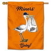 UTEP New Baby Banner