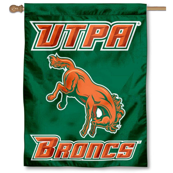 UTPA Broncs House Flag
