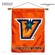 UTRGV Vaqueros Banner with Pole