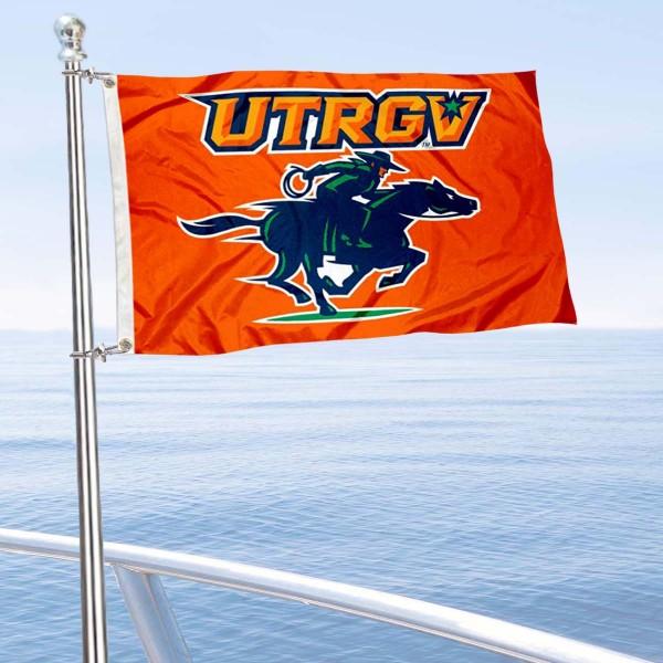 UTRGV Vaqueros Boat Nautical Flag