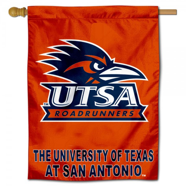 UTSA Roadrunners House Flag