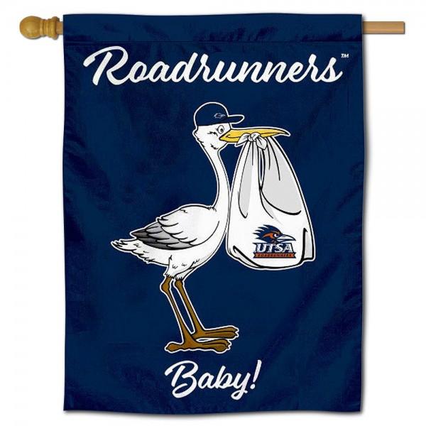 UTSA Roadrunners New Baby Banner
