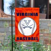 UVA Cavaliers Baseball Garden Flag
