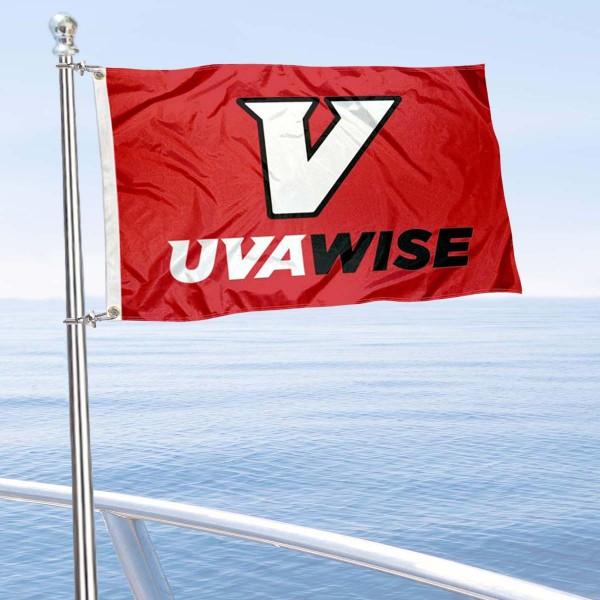 UVA-Wise Cavaliers Boat Nautical Flag