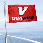 UVA-Wise Cavaliers Boat Nautical Flag